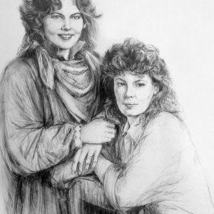 Henriette en Petra